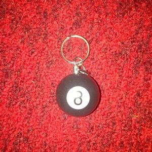 Other - 8 ball key chain.